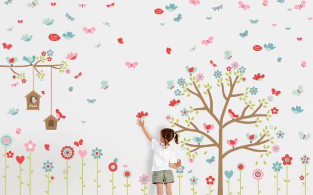 panduan mendekor kamar anak dengan wall sticker | smartmama